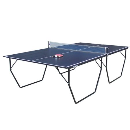 Mesa de Tênis de Mesa/Ping Pong Procópio c/ Rodas 15mm MDP - Azul e Preto