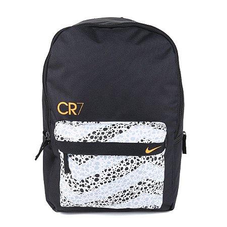 Mochila Nike CR7 FA20 - Preto e Branco CU1627-010