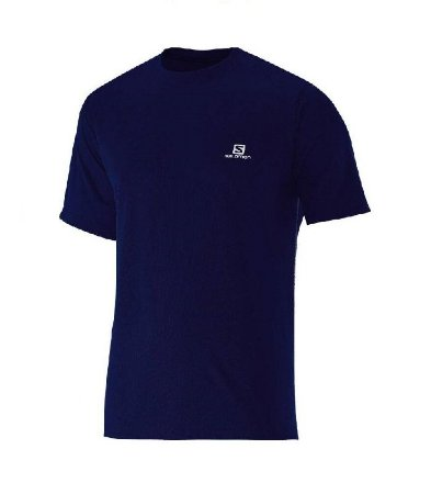 Camiseta Salomon Training VII SS Marinho