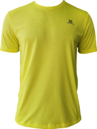 CAMISETA SALOMON TRAINING VI SS AMARELA
