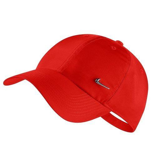 Boné Nike Metal Swoosh Cap - Vermelho 943092-634