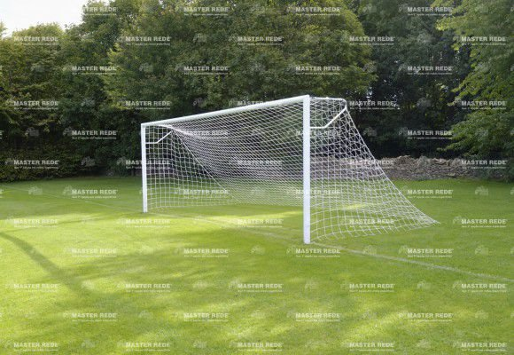 Rede para Futebol de Campo Tradicional Fio 4mm Reforçado FC4 - Nylon