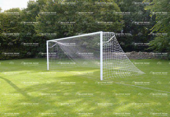 Rede para Futebol de Campo Tradicional Fio 2,5mm Seda FC-L2