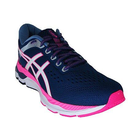 Tenis Gel Pacemaker - Azul Petroleo e Pink - Feminino
