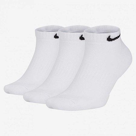 Kit Meia Nike Cano Curto Everyday Cushion Pacote C/ 3 Pares