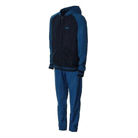AGASALHO SPEEDO ACTIVE COLLEGE - NAVY BLUE