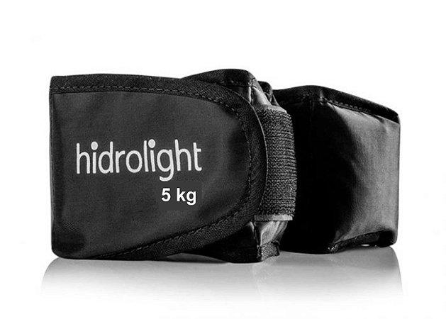 Caneleira de Peso 5Kg Hidrolight - Preto - Tornozeleira ID1737