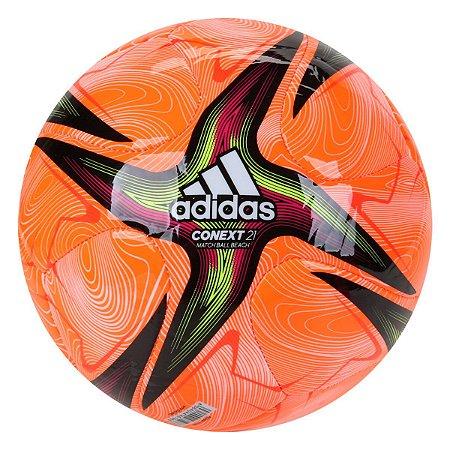 Bola de Futevôlei Adidas Fifa Conext 21 - Laranja+Branco