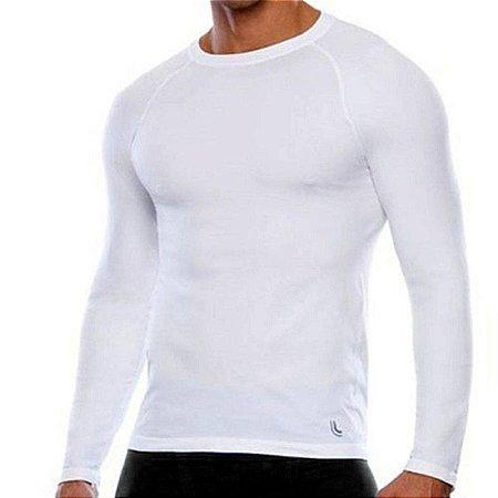 Camisa Térmica Manga Longa Lupo Masculina - Branco