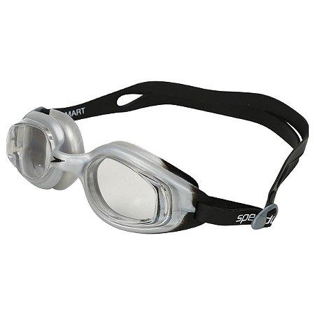 Óculos De Natação Speedo Smart SLC - Prata+Preto