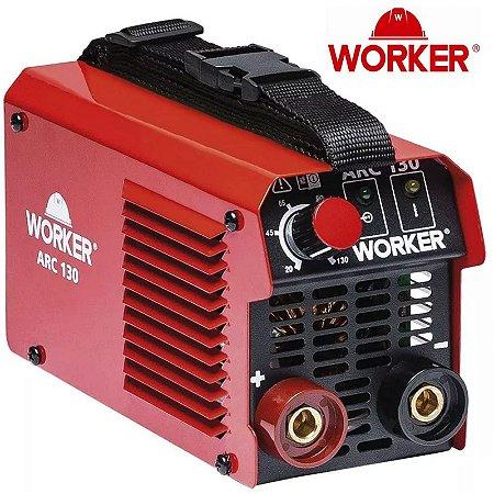 Maquina de Solda Compacta Inversora 130A 220V - Worker
