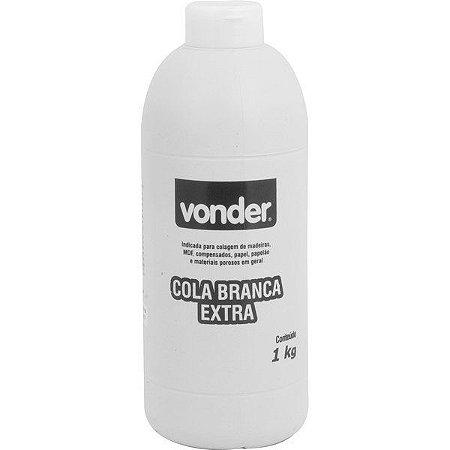 Cola Branca Extra 1kg - Vonder