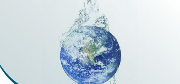 Água de poço artesiano