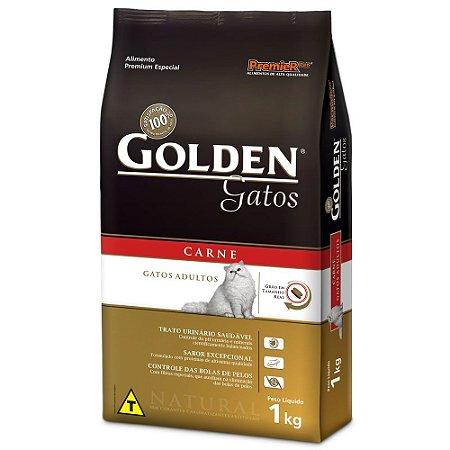 Ração Golden gatos adultos sabor carne