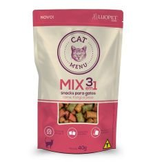 Snacks para gatos Cat Menu Mix 3 em 1