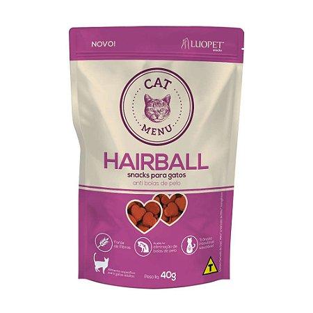 Snacks para gatos Cat Menu Hairball (anti bolas de pelo)
