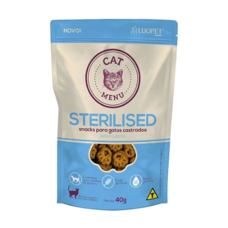 Snacks para gatos Cat Menu Sterilised (gatos castrados)