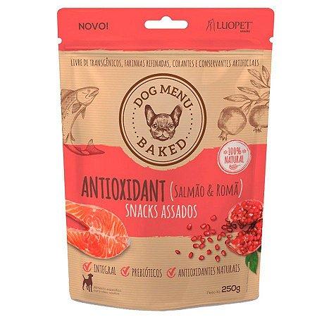 Snacks assados Dog Menu Antioxidant