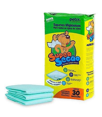 Tapete higiênico super secão 30 unidades