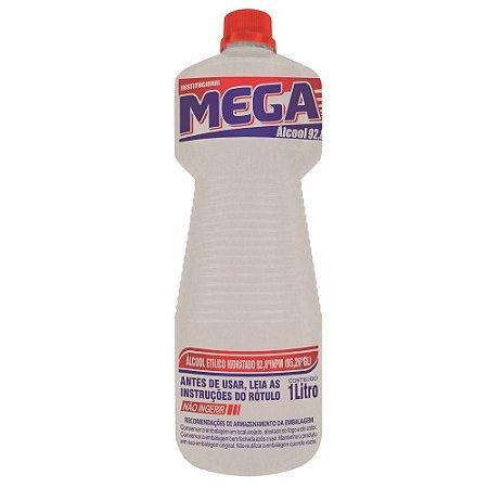 Álcool Líquido -  92,8% - 1 litro - Mega