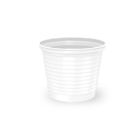 Copo 50ml - 100 unidades - Branco - Minplast