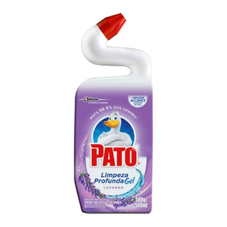 Limpador Desinfetante Sanitário - Lavanda- Cloro em gel - 500ml - Pato