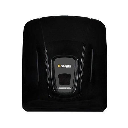 Dispenser Papel Toalha - Preto - Linha City - NCoisas