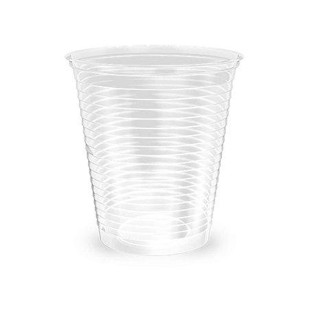 Copo Plástico Transparente - 180ml - c/100unid. - Minaplast