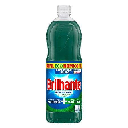 Lava Roupas - Higiene Total - 1 Litro - Brilhante