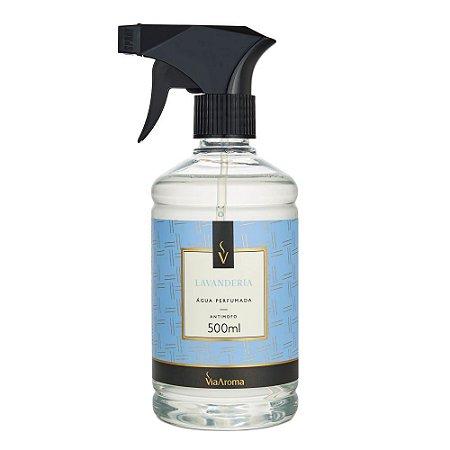 Água Perfumada - Lavanderia - 500ml - Via Aroma