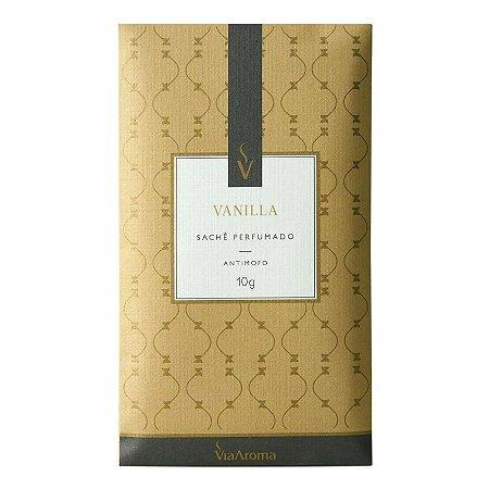 Sachê Perfumado - Vanilla - 10gr - Via Aroma