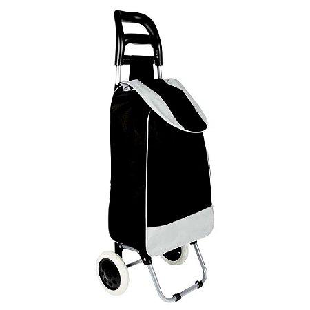Carrinho de Compras - Leva Tudo Bag To Go - Preto - Mor