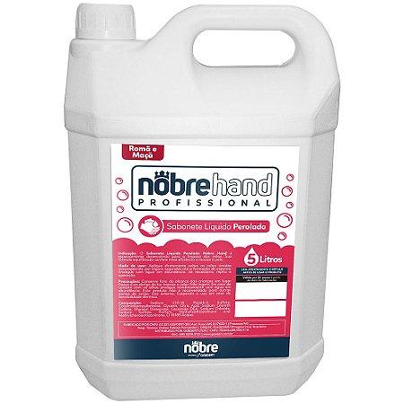 Sabonete Líquido Perolado - 5L - Romã e Maça - Nobre