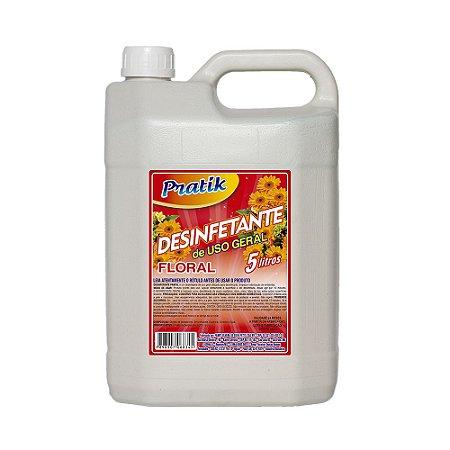 Desinfetante 5L (uso geral) Floral - Pratik