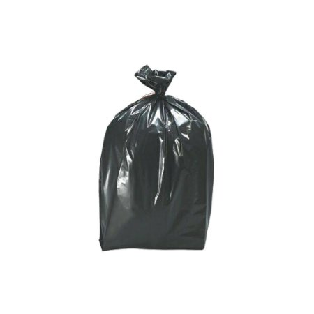 Saco plástico preto para lixo 100L 70X85cm com 100un - Micra 5 - Nobreplast