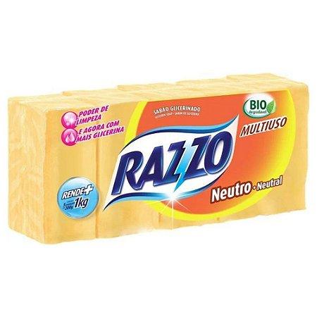 Sabão em Barra - Neutro - 5 unidades - Razzo