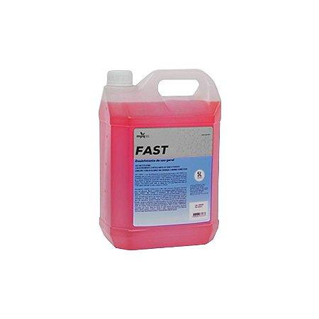 Desinfetante 5 litros (concent. até 1:10 / bactericida)  Fast Red