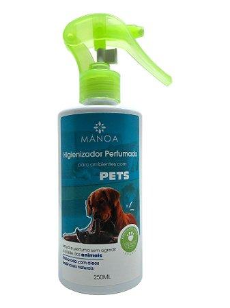 Higienizador perfumado 250ml Pets ADHETECH - Manoa