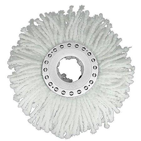 Refil de Microfibra para Conjunto Mop Rotatório - Nobre
