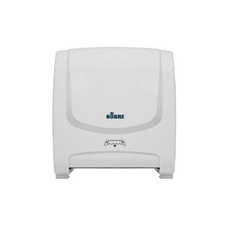 Dispenser autocortante para toalha - branco - NOBRE