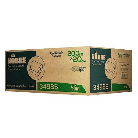 Papel Toalha Bobina - SLIM -  0,20x200m - Nobre