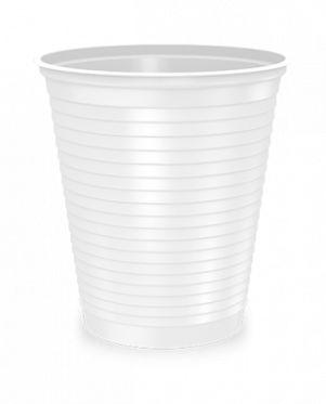 Copo Plástico - 180ml - 100 unidades - Happy