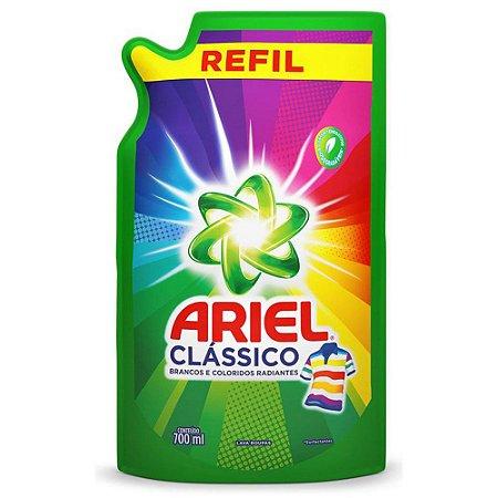 Sabão líquido Clássico 700ml - refil - ARIEL