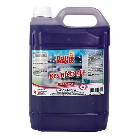 Desinfetante Lavanda 5L - BRILHO MÁGICO