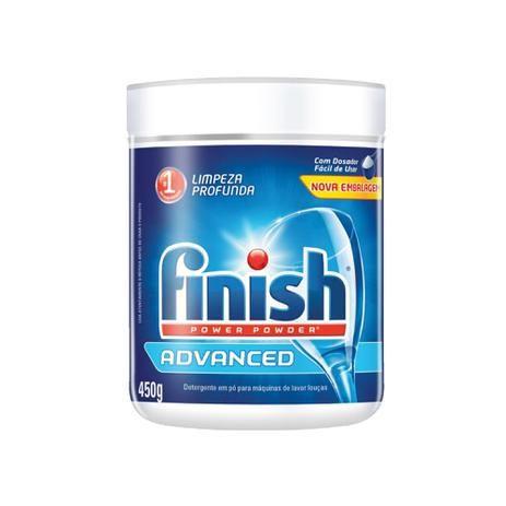 Sabão em Pó para Máquina Lava Loucas - 450g potinho - FINISH