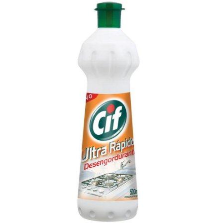 Limpador desengordurante ultra rápido spray 500ml - CIF