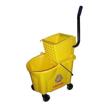 Balde Espremedor para Limpeza Profissional  28L - Nobre