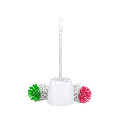 Vassoura escova sanitária - Com suporte - VALENTINA