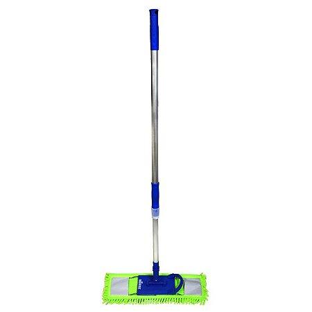 Super Mop Pó Microfibra - Suporte 40cm - Nobre