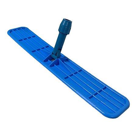 Suporte plástico para Mop Pó 60cm - sem cabo - com pinça - Nobre